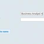 Screenshot: Change Role Name plug-in